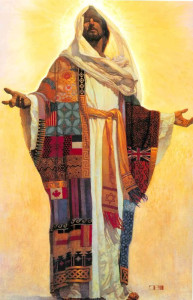 Jesus Coat of Many Colors