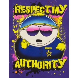 Southpark_Respect_My_Authority_Cartman_t-shirt_S