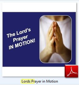 Lords Prayer in Motion Icon